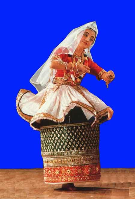 La danse Indienne Manipuri